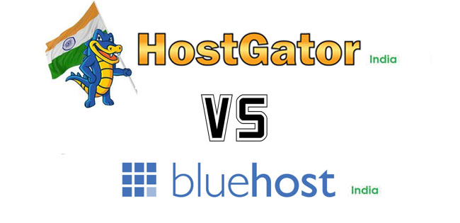 HostGator India vs Bluehost India