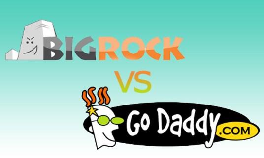 BigRock vs GoDaddy Review