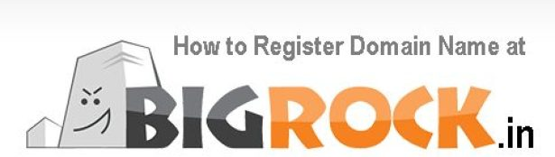 How To Register Domain Name at Bigrock.in