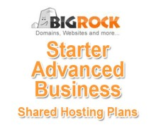 BigRock Shared Hosting Plans Explained: Starter, Advanced, and Business