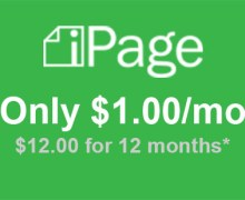 iPage Secret Offer Coupon at $1.00!