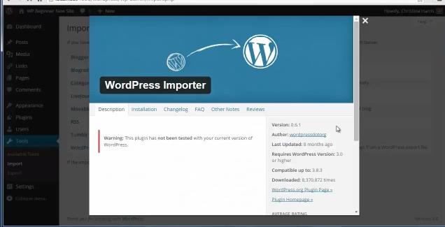 Moving Blog from WordPress.com to WordPress.org