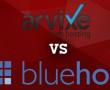 Arvixe vs BlueHost