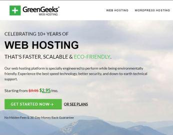 Revisión de GreenGeeks