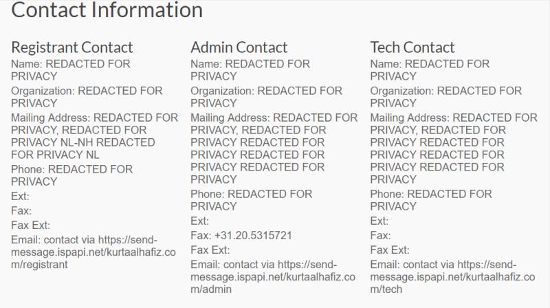 domain dengan whois protection