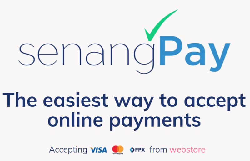 senangpay online payment
