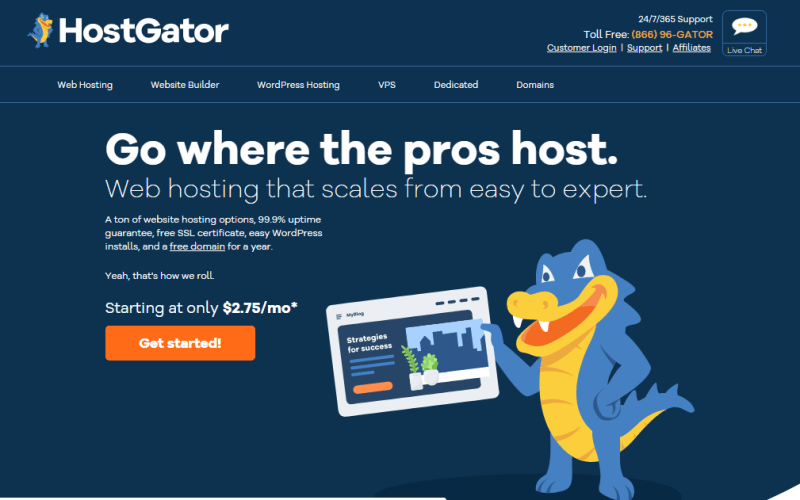 HostGator Is One Of The Best Adult Web Hosts Today