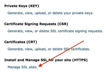 Installing the SSL