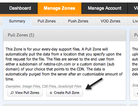 Setup MaxCDN On WordPress - Create Pull Zone MaxCDN