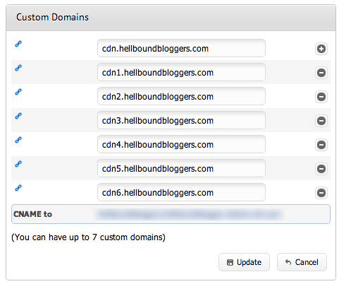 custom cdn subdomains maxcdn