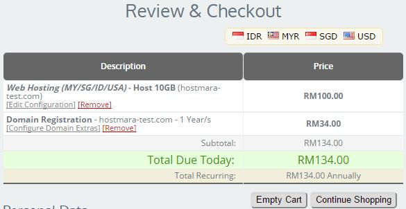 order review hostmara