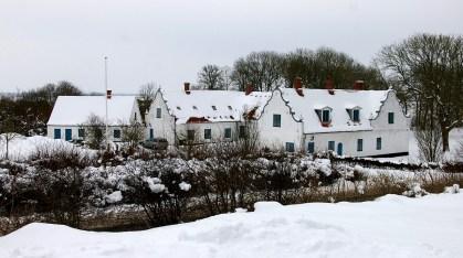 Hostrup i sne