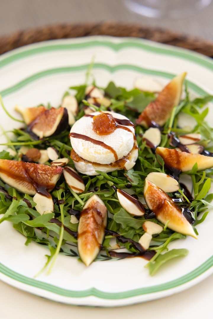 Brie Cheese and Fig Salad