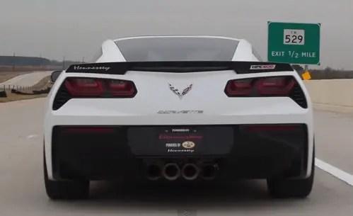 Hennessey C7 Corvette - Top sports car
