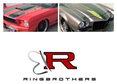 Ring brothers Muscle cars
