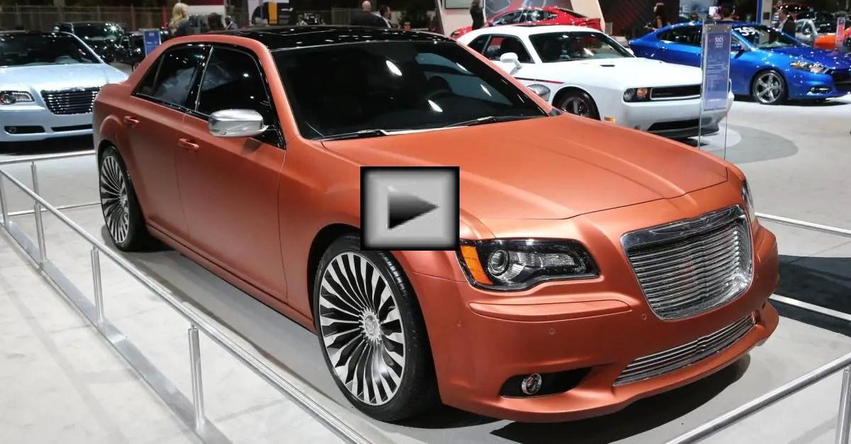 Chrysler 300 concept mopar