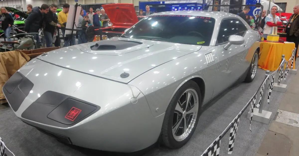 challenger daytona mopar muscle car