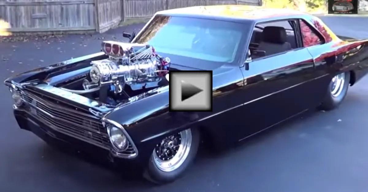 1967 chevrolet Nova Street Machine american muscle car