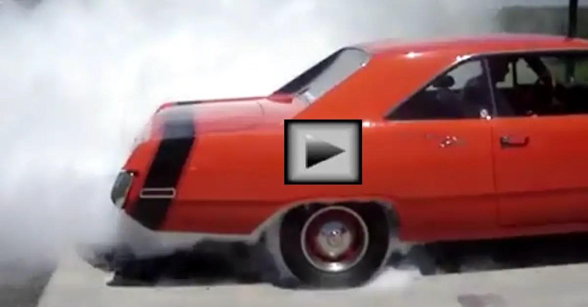 1970 Dodge Dart Swinger Burnout mopar muscle car