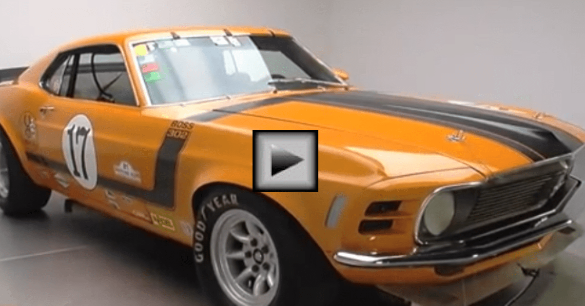 1970 Ford Mustang Boss 302 american muscle car