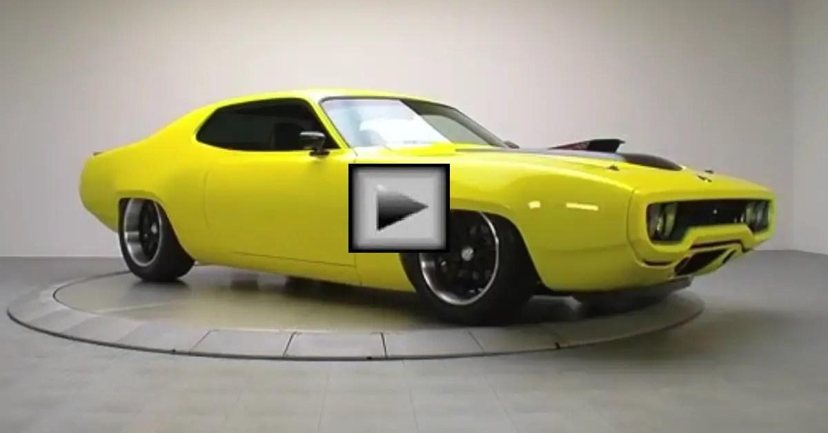1972 Plymouth Satellite mopar muscle car