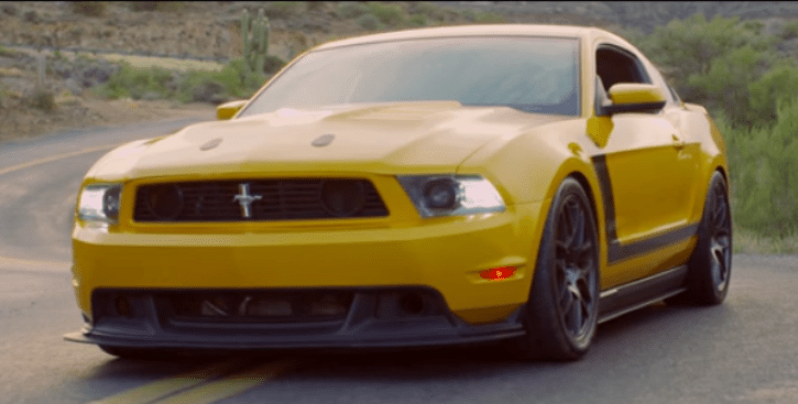 2012 ford mustang boss 302 video