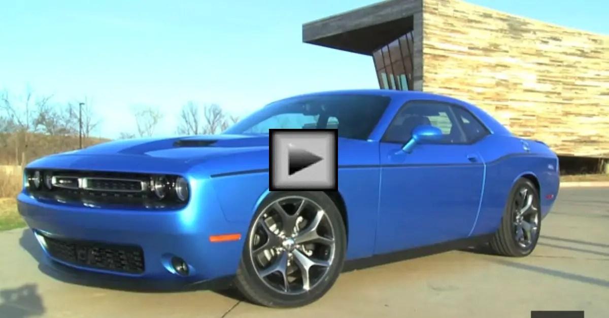 2015 Dodge Challenger Overview Feature mopar muscle car