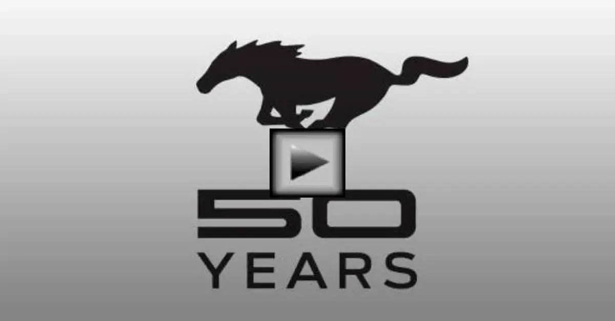 50 years mustang