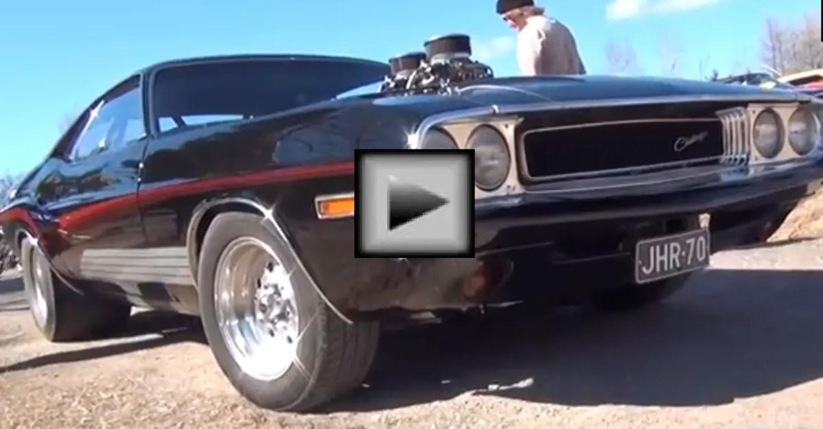 Custom 1970 Dodge Challenger mopar muscle car
