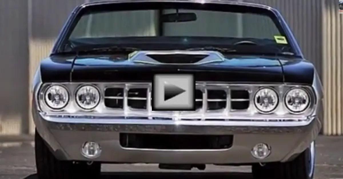 Custom Pro Touring 1970 Plymouth Cuda mopar muscle car