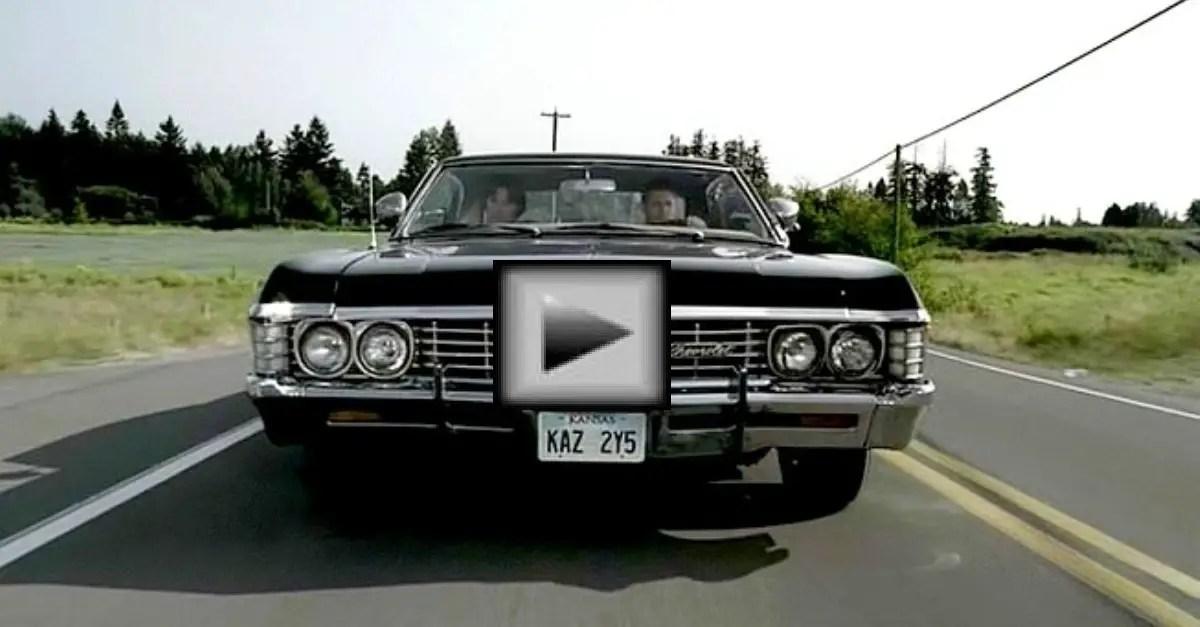 supernatural chevy impala american musclecars