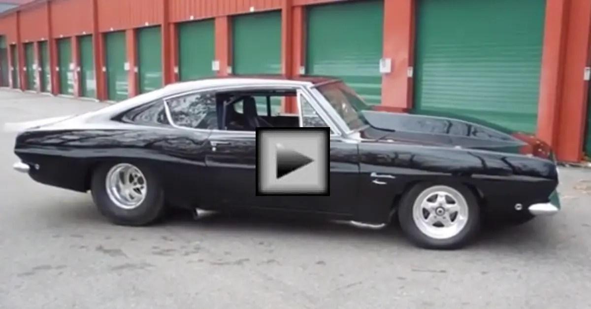 1968 Pro Street Plymouth Barracuda mopar muscle car