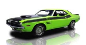 1970 Dodge Challenger Mopar muscle car
