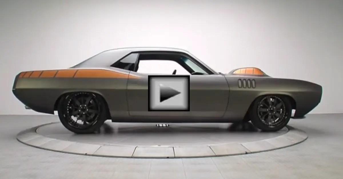 1971 Plymouth Cuda mopar muscle car