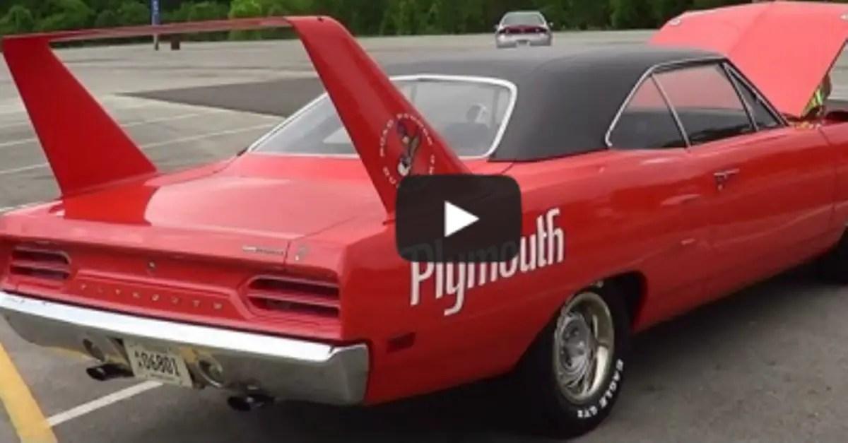 plymouth superbird mopar muscle car