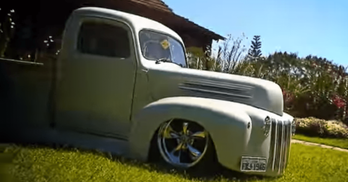1946 Ford custom pick up truck american trucks