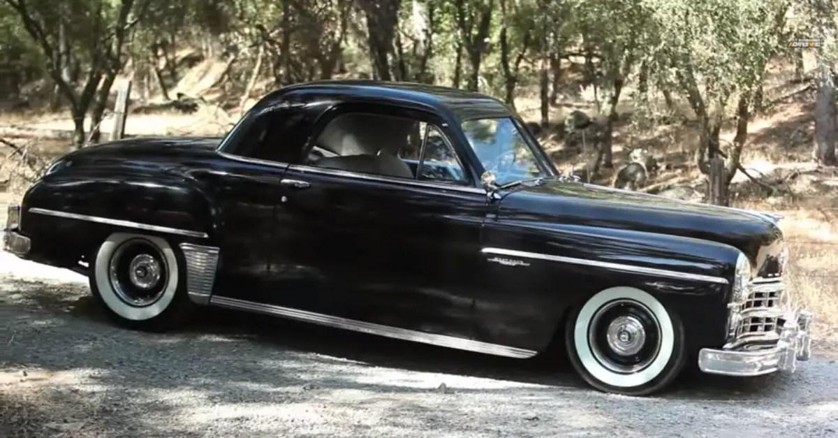 1949 Dodge Wayfarer Gangster Style Mopar muscle car