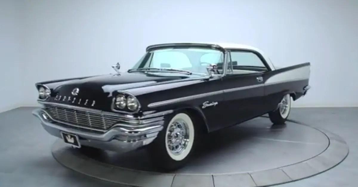 1957 Chrysler Saratoga Classic Mopar cars