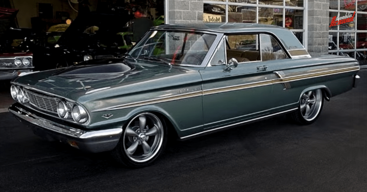 1964 ford fairlane 500 sports coupe 331 stroker v8 restomod american muscle cars hot cars. Black Bedroom Furniture Sets. Home Design Ideas