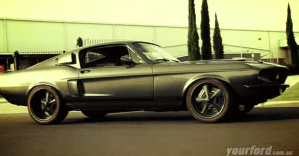1967 Ford Mustang GT Fastback american muscle car