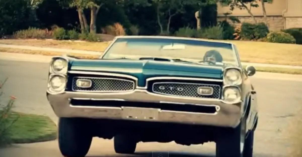 1967 Pontiac GTO american muscle cars