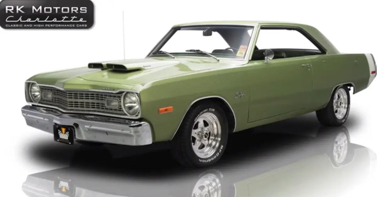 1973 Dodge Dart Swinger Mopar muscle car