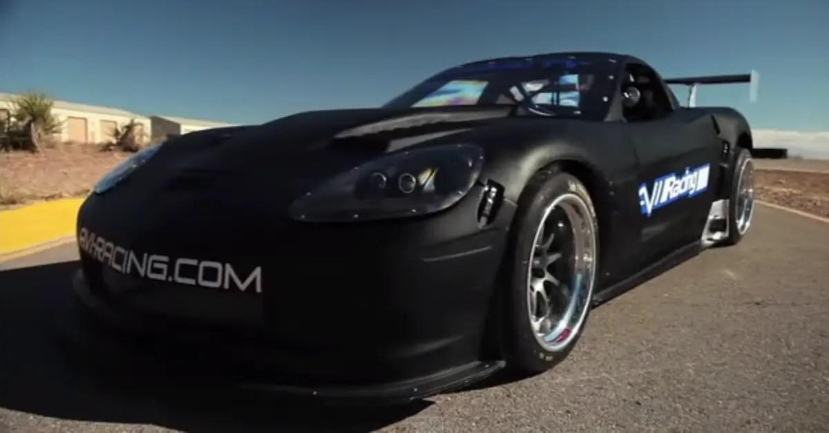 The Ultra Light american sports car 505 WHP AVI Racing Corvette GT1