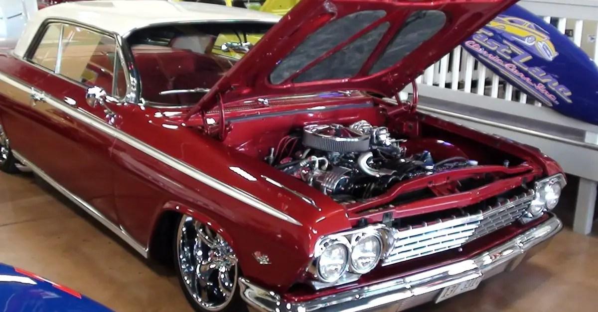 1962 chevrolet impala custom american muscle car