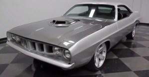 1973 Dodge Challenger Cuda Restomod Mopar muscle car