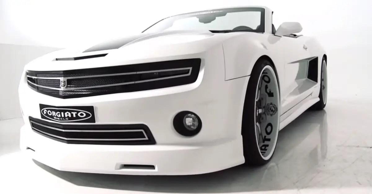 FORGIATO WIDE BODY custom CAMARO SS american muscle car