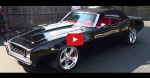 1969 chevy camaro convertibpel pro touring muscle car custom interior