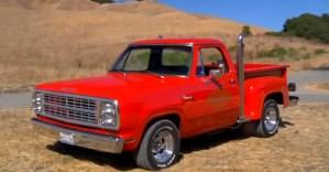 1979 Dodge Little Red Express Mopar muscle truck