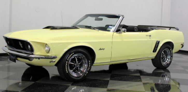 beautiful 1969 ford mustang convertible 351 v8 hot cars. Black Bedroom Furniture Sets. Home Design Ideas