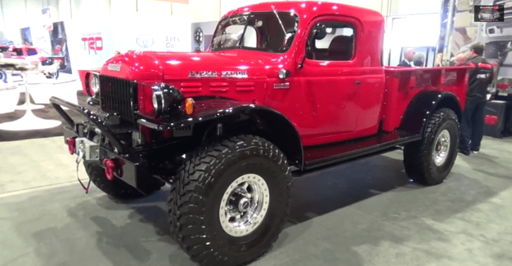 1947 dodge power wagon custom legacy classic trucks